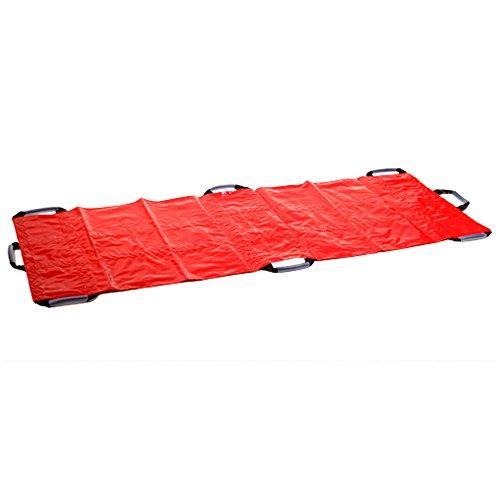 SANISMART Rettungstuch PROFI PLANE RED 200 x 70 cm DIN EN 1865