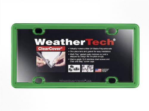 WeatherTech 8ALPCC11 ClearCover, Kelly Green