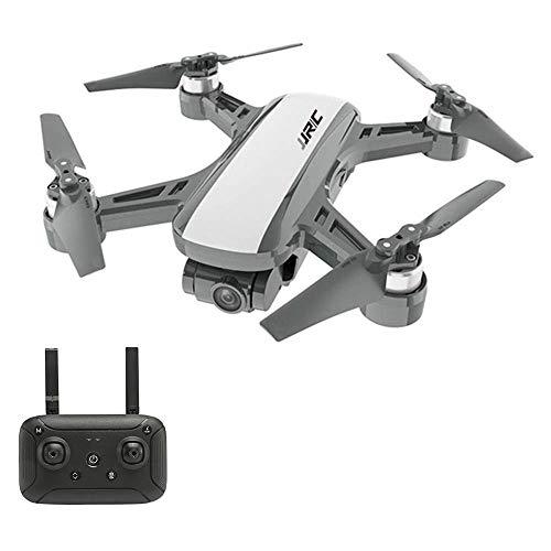GPS RC Drone, Brushless, Camera 2K 5G WiFi FPV Posizionamento del Flusso Ottico Quadcopter Follow Me Altitude Hold Drone,Bianca
