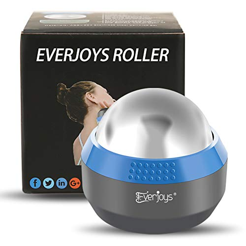 Cold Massage Roller Ball - Hot & Cold Therapy Relief for Sore Painful Muscles & Joints Great for Back/Neck Pain