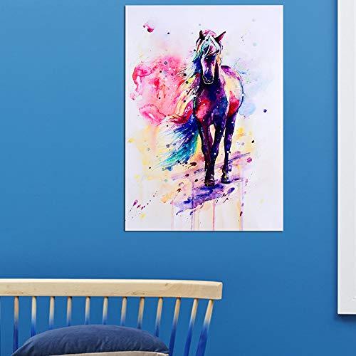 TOPINCN Impressions Sur Toile - Peinture à L'huile Sur Toile - Peinture à L'huile - Décoration De La Maison - Salon (40 x 57 cm)