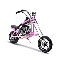Gas Bike Mini Dirt Bike Gas Scooter Chopper for Kids 49cc 2 Stroke Powered Motorcycle