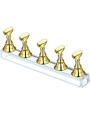 1 Set Soporte magnético para uñas,Soportes de Práctica de Uñas de Acrílico,Soportes de Práctica de Uñas de Nail Tips Stand Holder