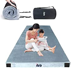 ibigbean Portable Sleeping Pad Memory Foam Camping Mattress for Camping Sleeping Pad, Guest Bed Lightweight, Outdoor Cot Pad Foam Portable Bed, Cover Removable, Come with Travel Bag(75x38x3in)