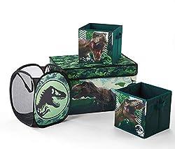 6. Jurassic World Storage Set (4 Pieces)