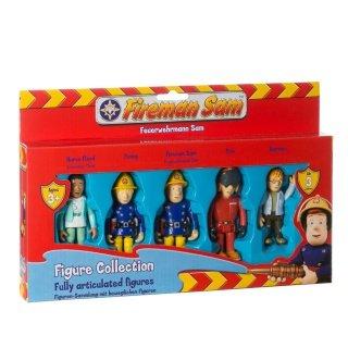 Feuerwehrmann Sam Set mit voll bewegliche Figuren
