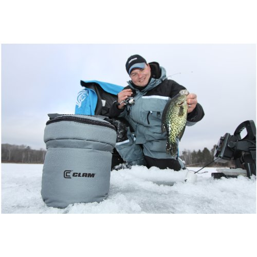 Clam (CLAM0) Bait Bucket with Insulated Carry Case