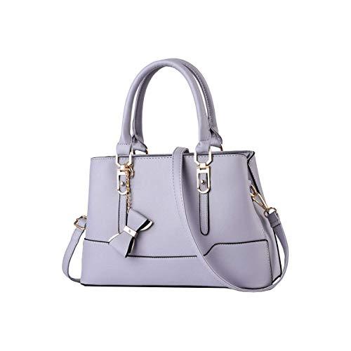 Tisdaini Damenhandtaschen Mode Schultertaschen Shopper Umhängetaschen Henkeltaschen KA-KUK6700 Grau