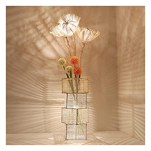 Indoor Decoratieve vloerlamp creatieve rotan geweven staande lamp moderne woonkamer slaapkamer warme vakantie cadeau…