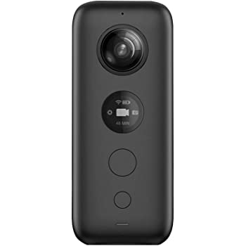 Insta360 ONE X 5.7K超高画質動画 手ブレ補正機能FlowState搭載 360度バレットタイム 高速WiFi (iphone/Android対応) 国内正規品 黒
