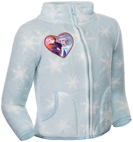 Brandsseller Chaqueta de forro polar infantil con cuello alto., Unisex niños, azul claro, 98-104