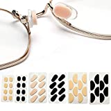 48 Pairs Eyeglass Nose Pads Soft Foam Self Adhesive Nose Pads for Sunglasses