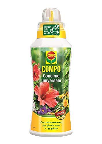 COMPO Concime Liquido Universale, Con Microelementi, Per piante sane e rigogliose, 500 ml