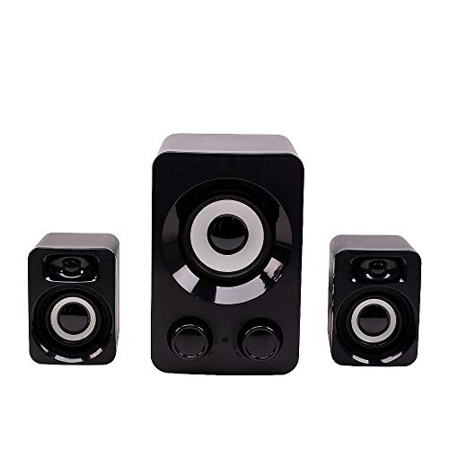 BUY-TO Subwoofer Audio 2.1 Channel Multimedia USB Actieve Speaker Desktop Computer Mini