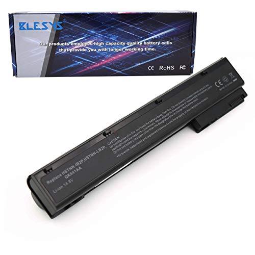 BLESYS 12-Zellen Laptop Akku kompatibel mit HP EliteBook 8560w 8570w 8760w 8770w Akku HP VH08 VH08XL 632113-151 632425-001 632427-001 HSTNN-F10C HSTNN-I93C HSTNN-IB2P HSTNN-LB2P HSTNN-LB2Q