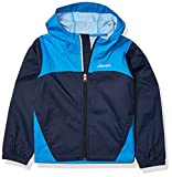 Columbia Boys' Little Glennaker Rain Jacket, Waterproof & Breathable, Collegiate Navy/Azure Blue, Small