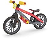 Chillafish BMXie Moto Multi-Play Balance Trainer with Real VROOM VROOM Sounds and Detachable Play Motor, Included Child-Safe Screwdriver and Screws, Adjustable seat, for Age 2-5 Years, Red
