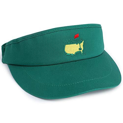 Masters Golf Visor (Green)