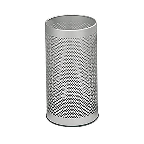 Corbeille à papier, capacité 20 litres gris -