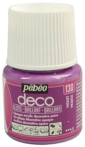Pébéo Deco Peinture 45 ml Brillant Violet 092130