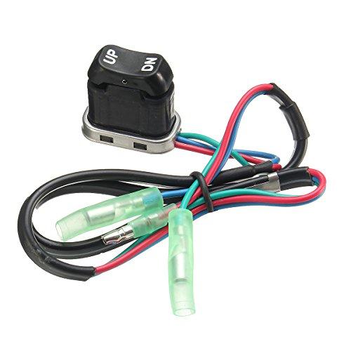 Alamor Universal Fueraborda Control Remoto Trim & Tilt Asamblea Interruptor Para Motor Yamaha