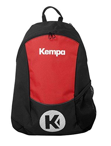 Kempa Unisex-Erwachsene 200490603 Rucksack, Schwarz (Negro/Rojo), 24x36x45 centimeters