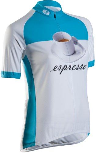 Sugoi - Maillot de Ciclismo para Mujer, tamaño L, Color Blanco [Large]