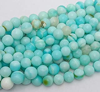 Beads Gemstone Natural Peruvian Opal Smooth Round Beads,Balls Beads,Sky Blue Color Smooth Balls Beads, 11 mm - 13 mm Approx,15 Inch Long Strand[E0575] Code-HIGH-33667