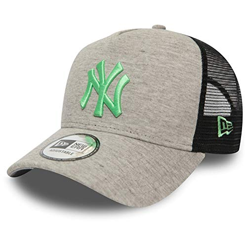 New Era A-Frame Trucker Cap - Jersey NY Yankees grau rosa