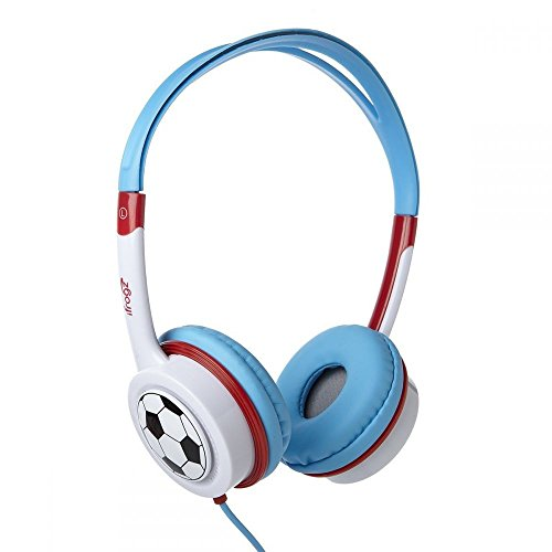 iFrogz IFLTRC-FB0 ILittle Rockers Costume Headphones - Red/Blue