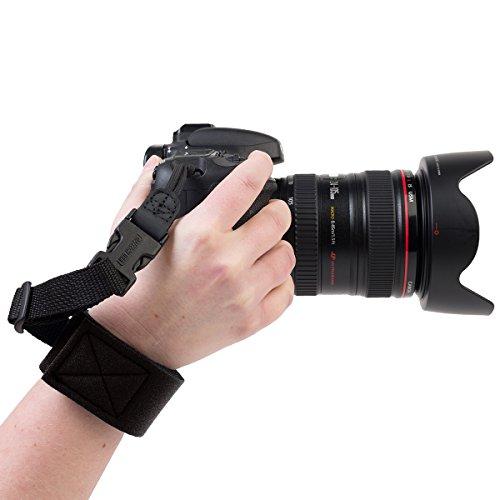 OP/TECH Gotcha Wrist Strap - Black