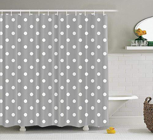 cortinas baño lunares