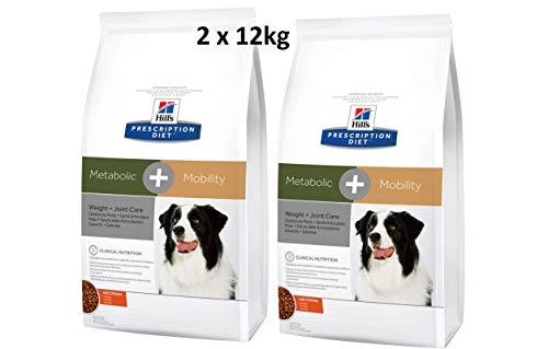 Hills Prescription Diet Metabolic & Mobility Hundefutter mit Huhn 2 x 12kg