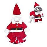 TBBA Costume De Noël Chien Manteau pour Animal Domestique Manteau Et...