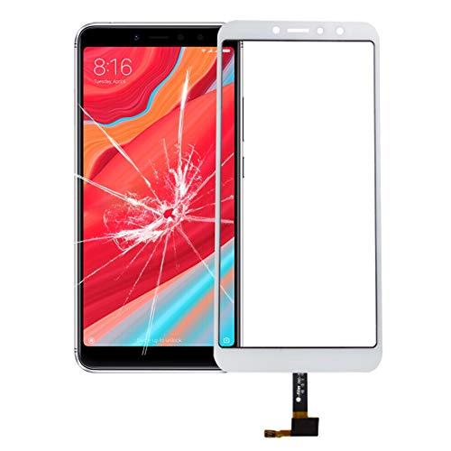 XHC reemplazo de la reparación Panel táctil for For Xiaomi Redmi S2 teléfono Inteligente (Color : Blanco)