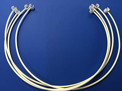 Weave Pole Guide Wires ONLY (Clip on) for Dog Agility. Weave Poles NOT Included