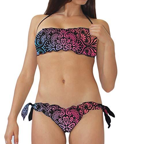 Okeo Bikini Black Lady Fascia tg. M