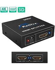 HDMI分配器1入力 4出力/ 1入力 2出力 / 1入力2出力/2入力1出力 双方向 hdmiセレクター 4K/3D/1080p対応 日本語説明書付き
