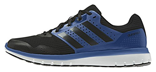 adidas Performance Herren Duramo 7 Laufschuhe, Blau (Core Black/EQT Blue S16/Core Black), 42