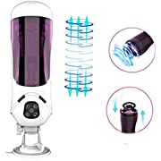 WeDol Rotating Male Masturbation Cup with 10 Spinning Modes and 10 Speeds to Stimulate Penis Glans, Automatic Penis Head Training Tool Masturbation Sex Toys for Prolonged Stronger Erection