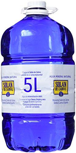 Solán de Cabras Agua Mineral Natural - 5 l