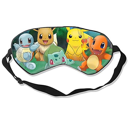 Poke-mon Pokemon 6, 7, 8, 9 Rebel Clash Manga Ranger Eye Schlafmaske Augenbinde Sleeping Nickerchen Merchandise