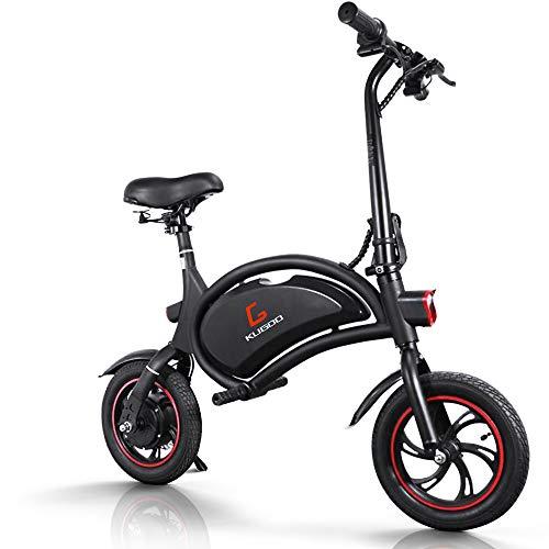 urbetter Bicicleta Eléctrica Plegable, 25 Km/h, Ruedas de 12 Pulgadas, 250W Batería...