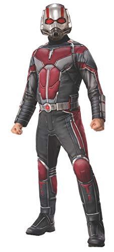 Marvel - Disfraz de Ant-Man oficial para hombre, Talla M adulto (Rubie's 821006-STD)