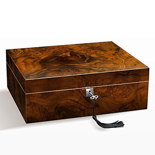 Xiao huang li sigaar Humidor kabinet sigaar doos sigaar vochtinbrengende kast cederhout piano verf hydraterende doos verzegeld grote capaciteit sigaar doos