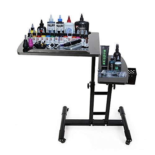 Verstellbar Tattoo Workstation Ständer Tätowierung Werkbank Tattoo-Zubehör Salon Tragbare einstellbare Schreibtisch Tabelle Studio Ausrüstung