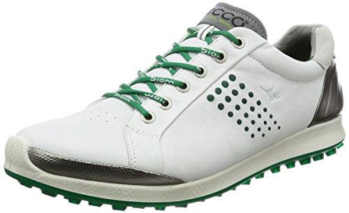 ECCO Men's Golf Biom Hybrid 2, Herren Golfschuhe, Herren, White/Green, 46
