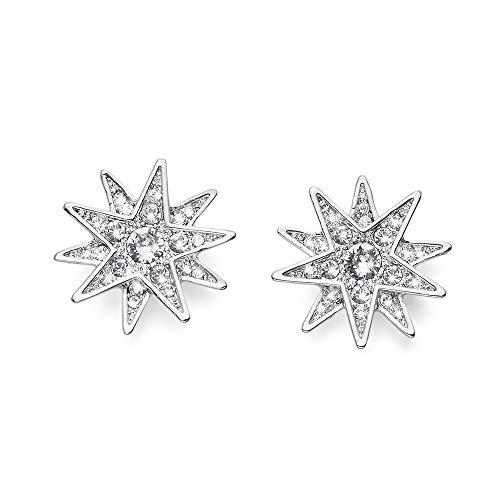 OLIVER WEBER | Ohrstecker Sissi rhodiniert crystal | DAMEN | veredelt mit Kristallen von Swarovski® | Designed in AUSTRIA | 22583