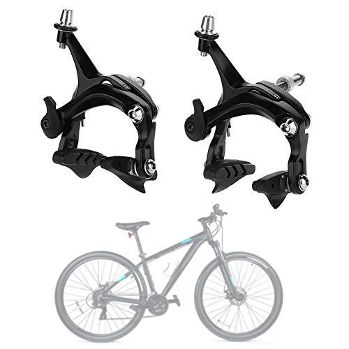 Yosoo Health Gear Pinza de Freno de Bicicleta de Carretera, Pinza de Freno de Bicicleta de Aluminio en Forma de V, 1 par
