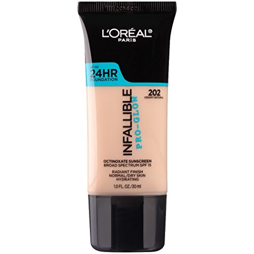 L'OREAL Infallible Pro-Glow Foundation - Creamy Natural